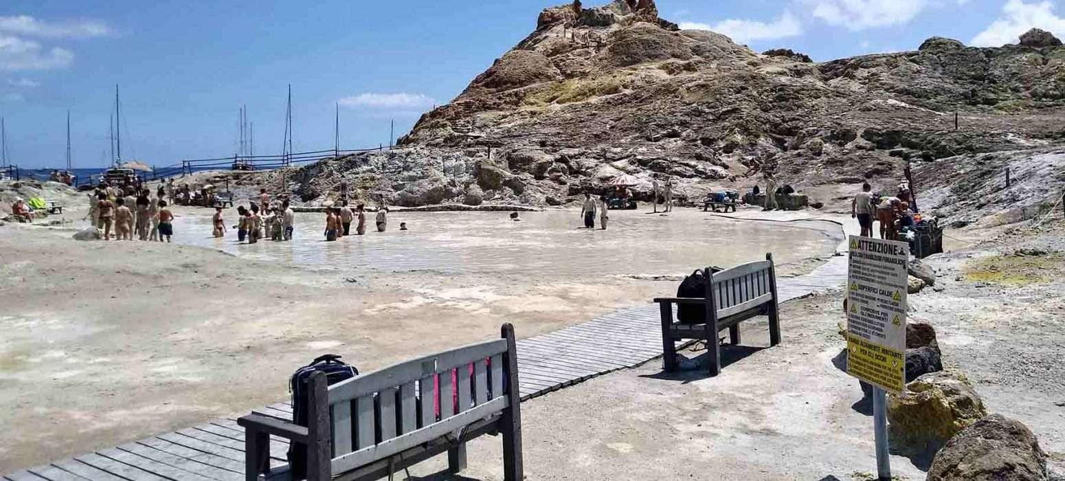 eolie tour mud pool of vulcano