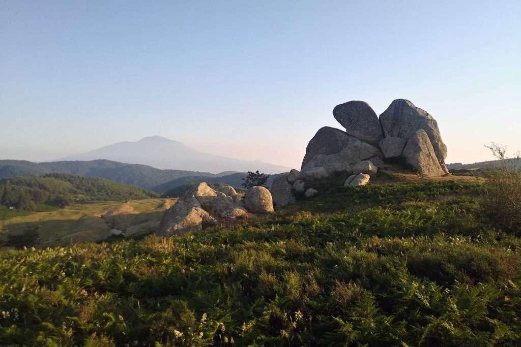Sicily landscape Argimusco Plateau Eagle
