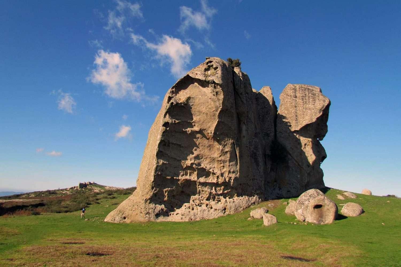 Sicily landscape the Siculo rock