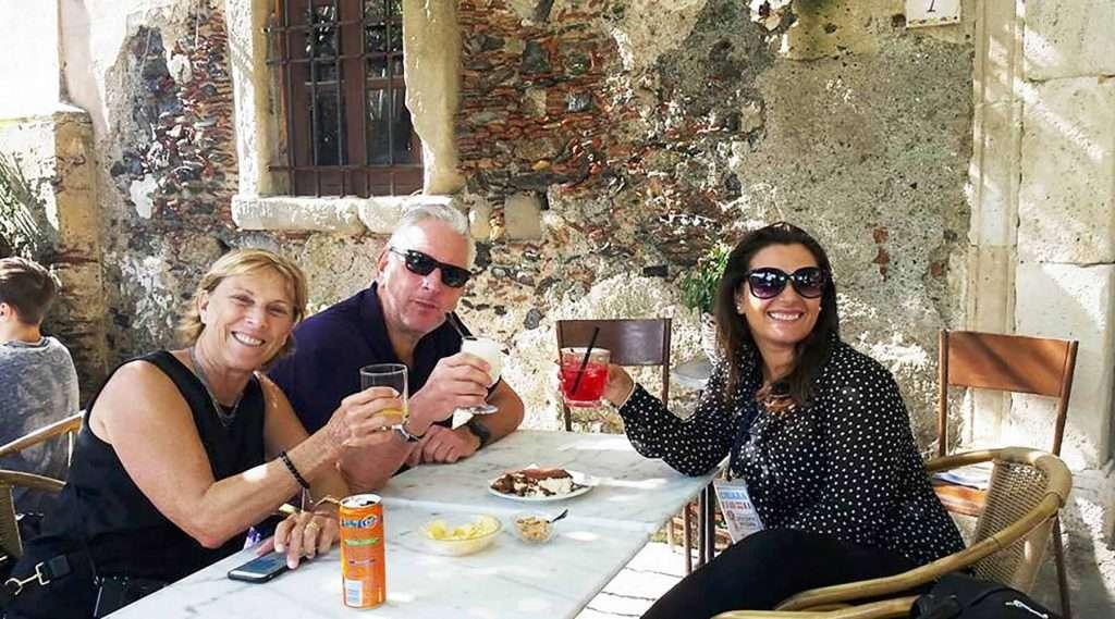 Savoca Sicily drink at Bar Vitelli