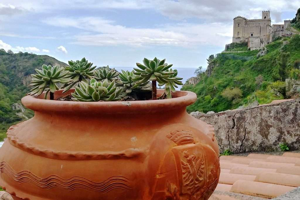 Places to visit near Taormina, view of Savoca Sicily