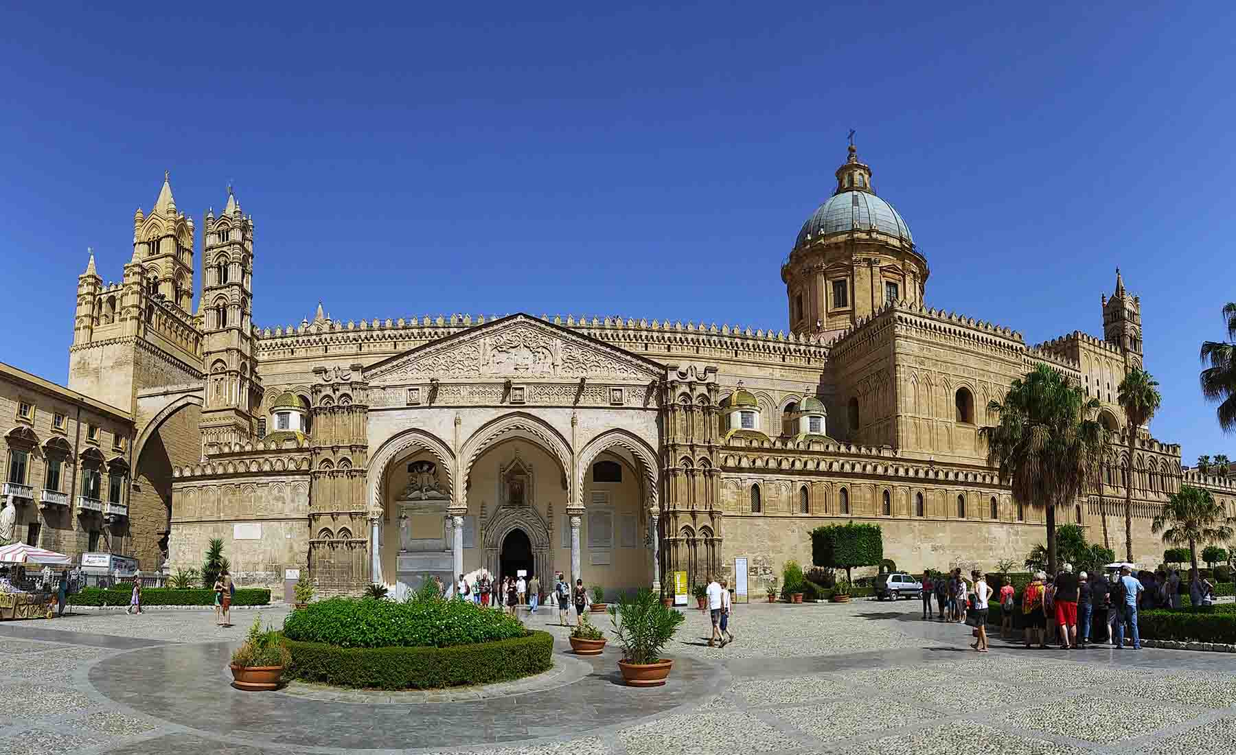 arabic architecture of Palermo cathedral