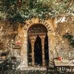 Bar Vitelli Sicily entrance the godfather sicily scene