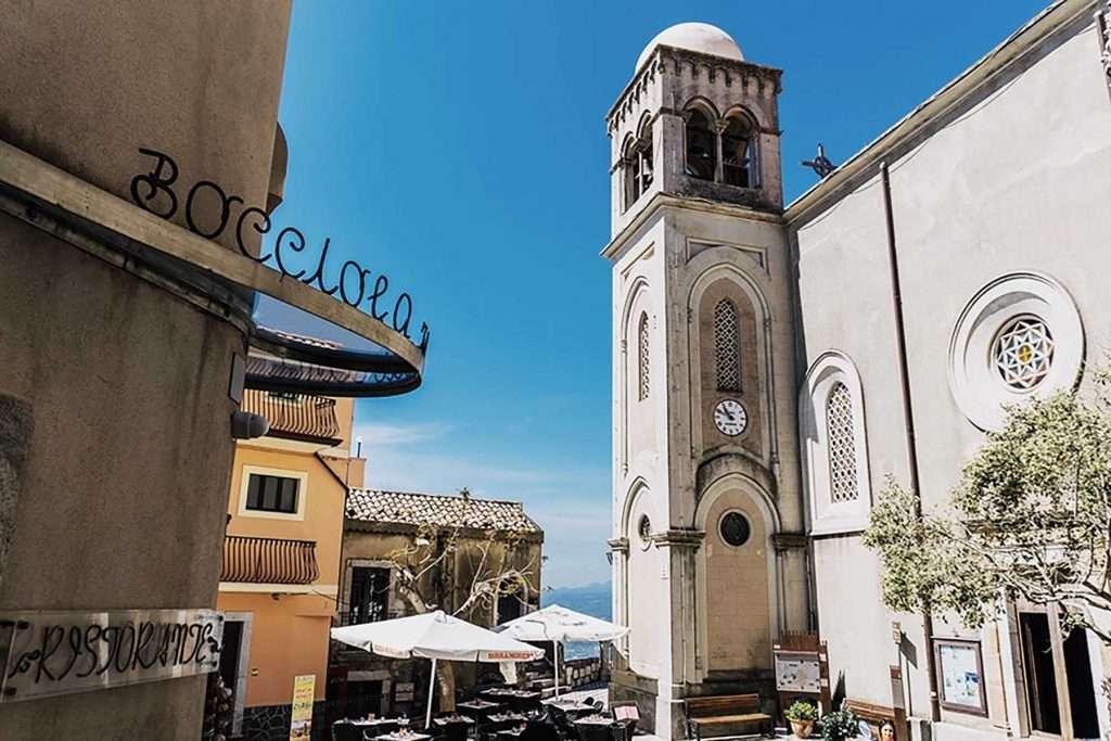 Castelmola Sicily cathedral square