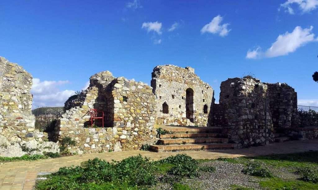 Castemola Sicily ruins of the ancient castle