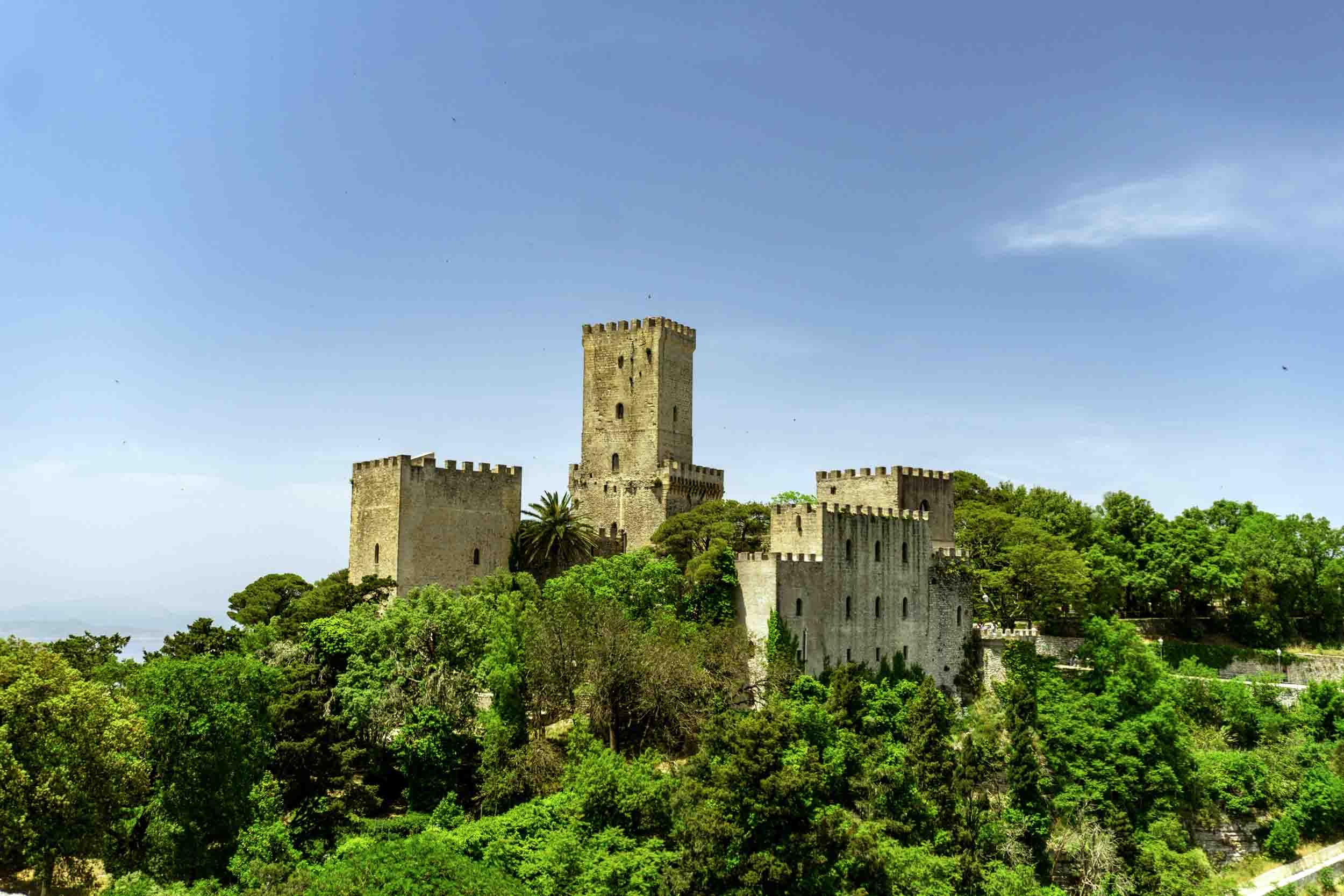 Sicilian castles: Venus castle of Erice