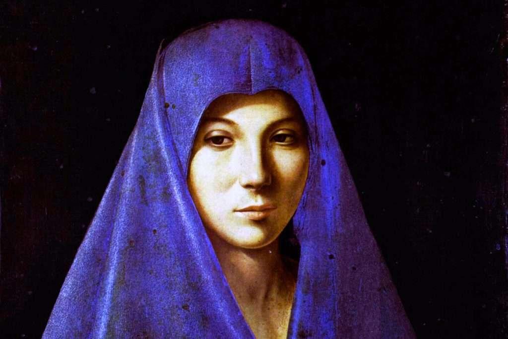 Antonello da Messina paintings: the Annunciata