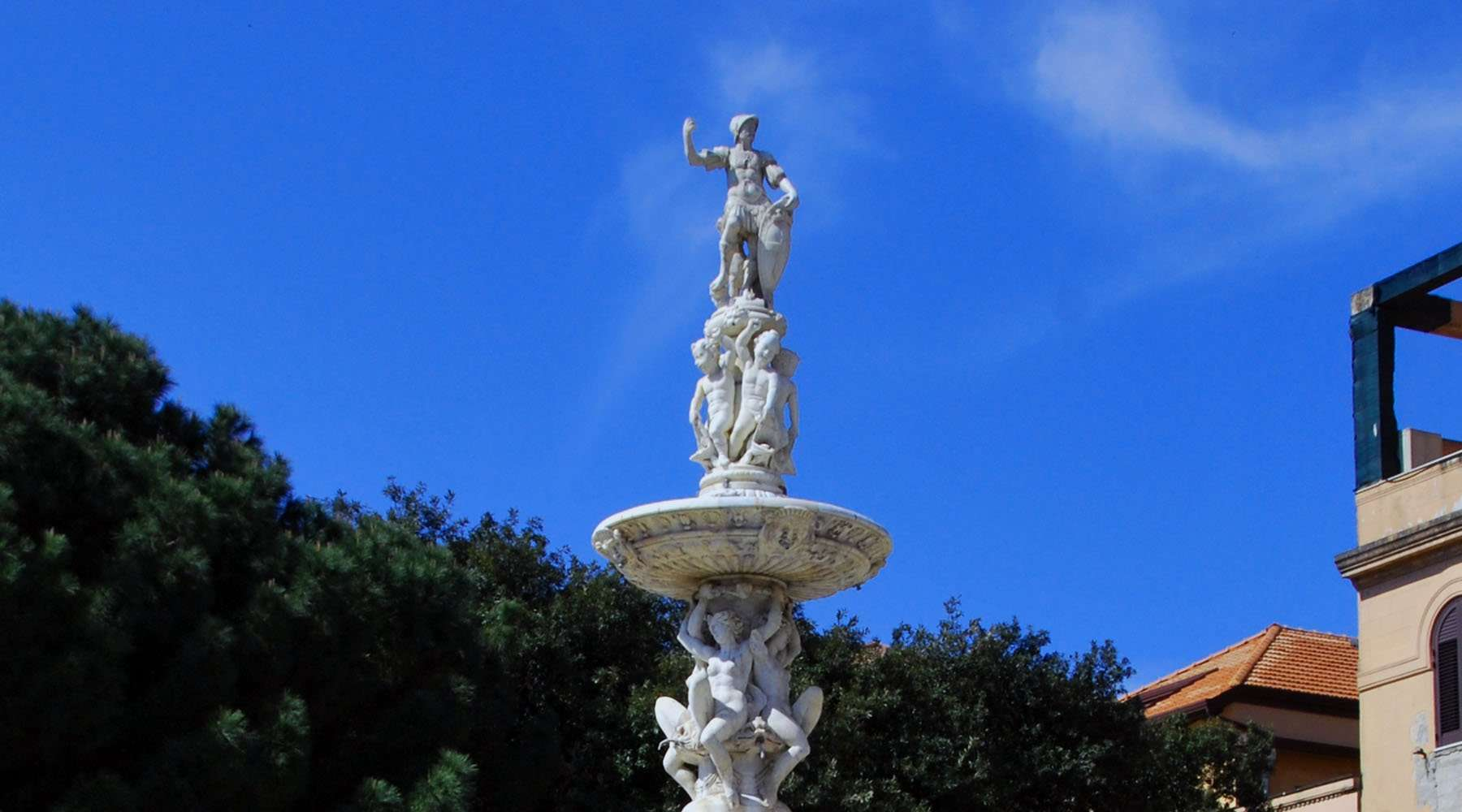 Orion Mythology, Orion fountain in Messina