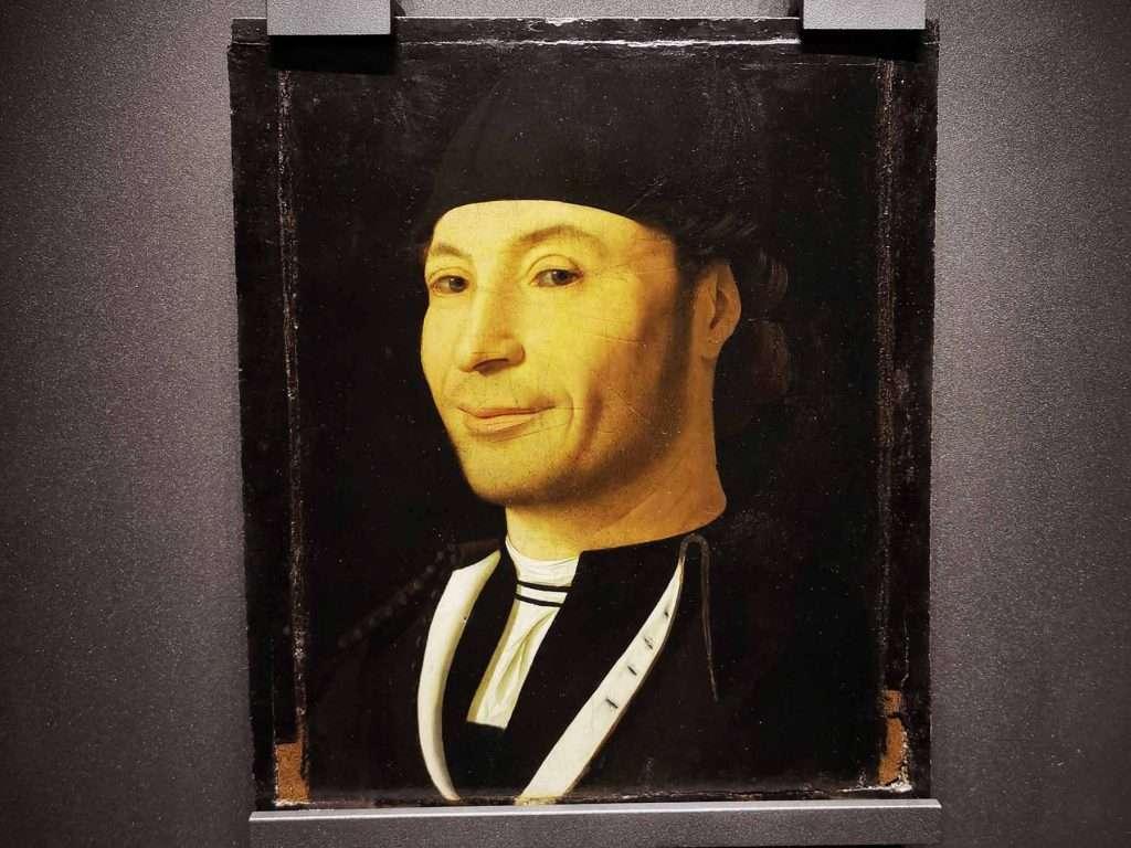 Antonello da Messina paintings: Unkown sailor