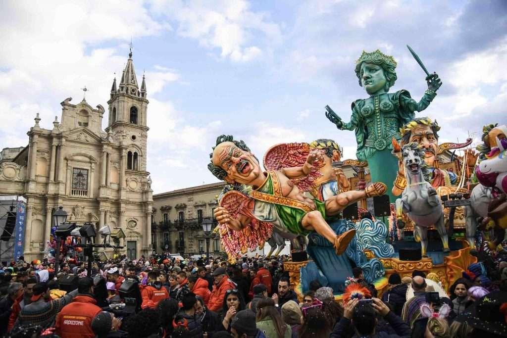 Carnival celebrations Acireale carnival