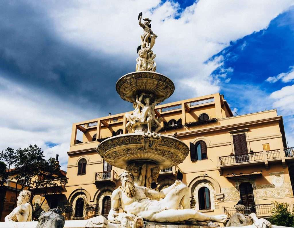 Orion fountain of Messina