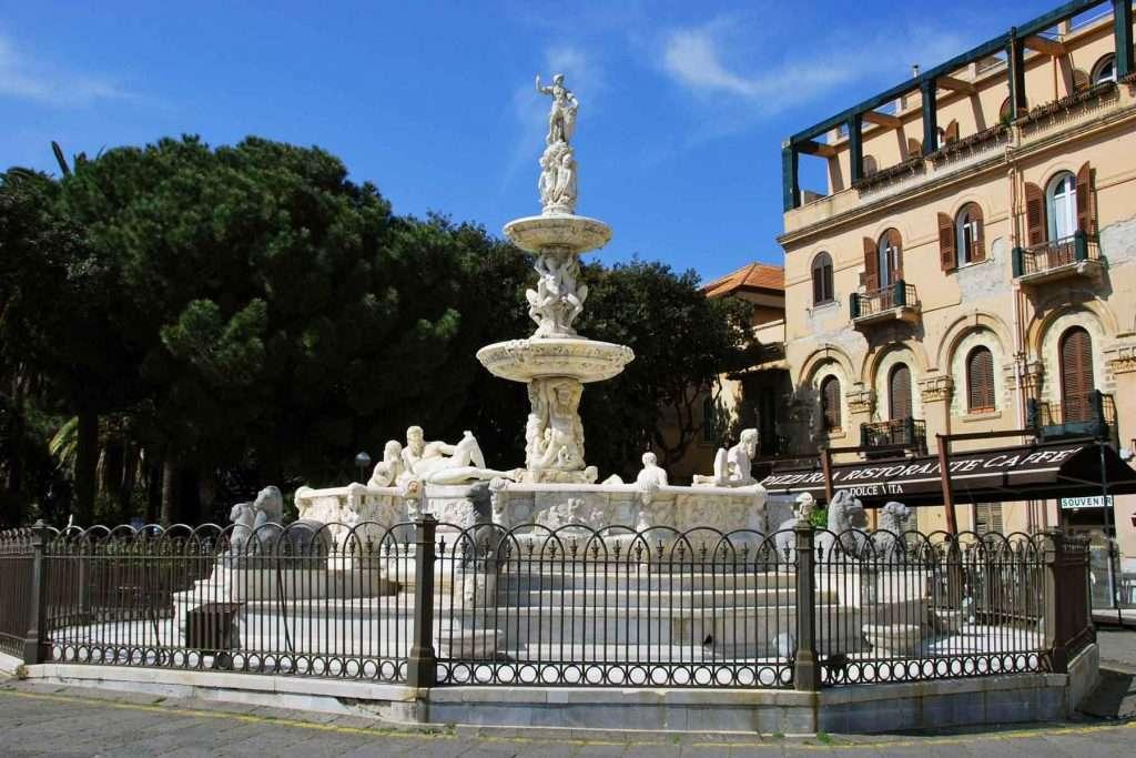 Orion Mythology, fountain of Messina