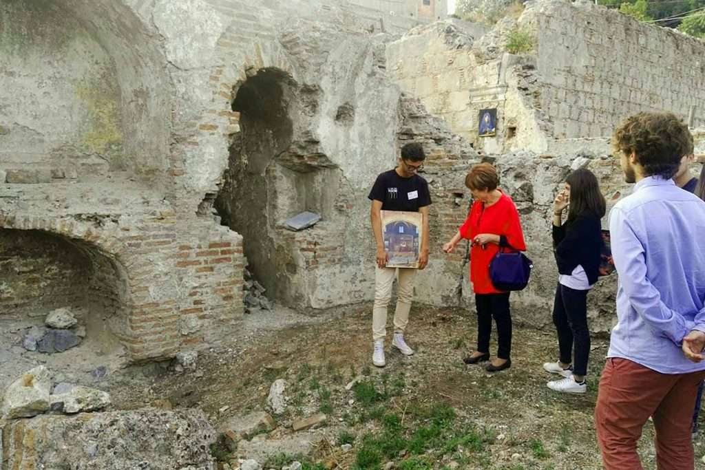 Ruins of the Monastery of Holy Mary of Jesus