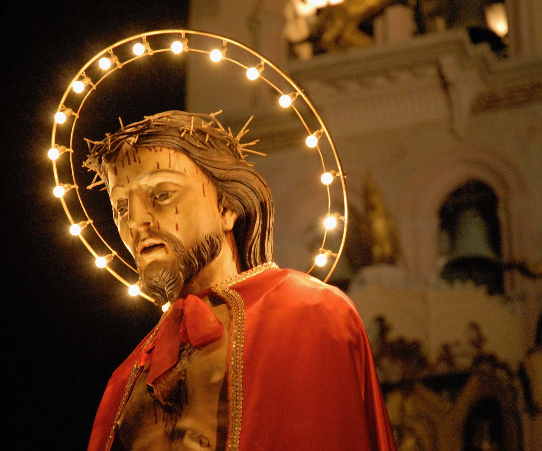 Holy week in Sicily, ecce homo