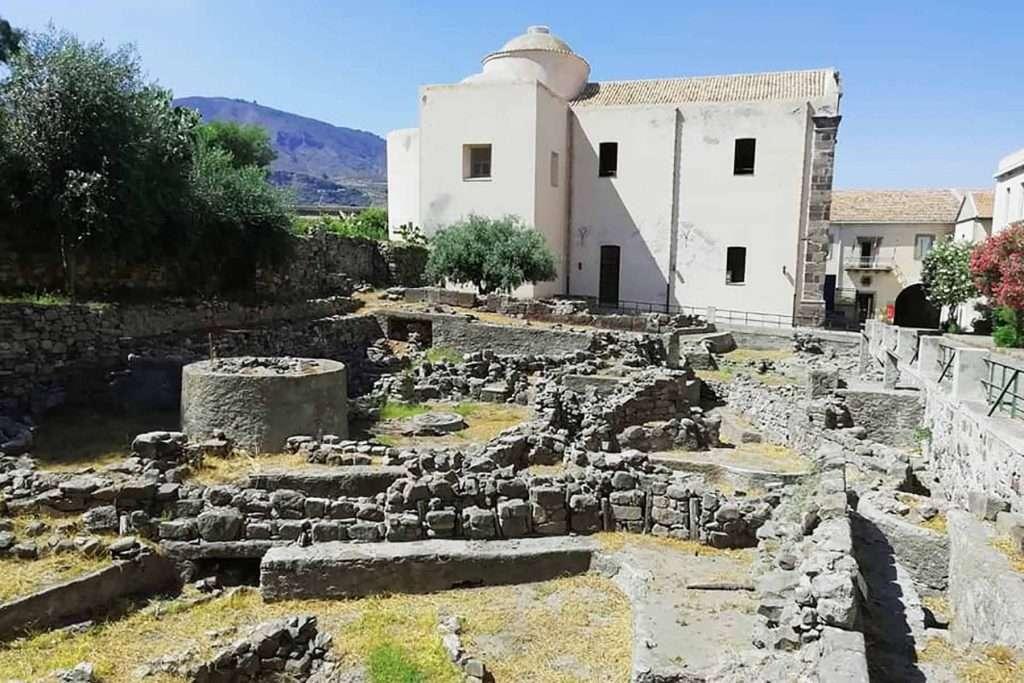 archaeological area lipari